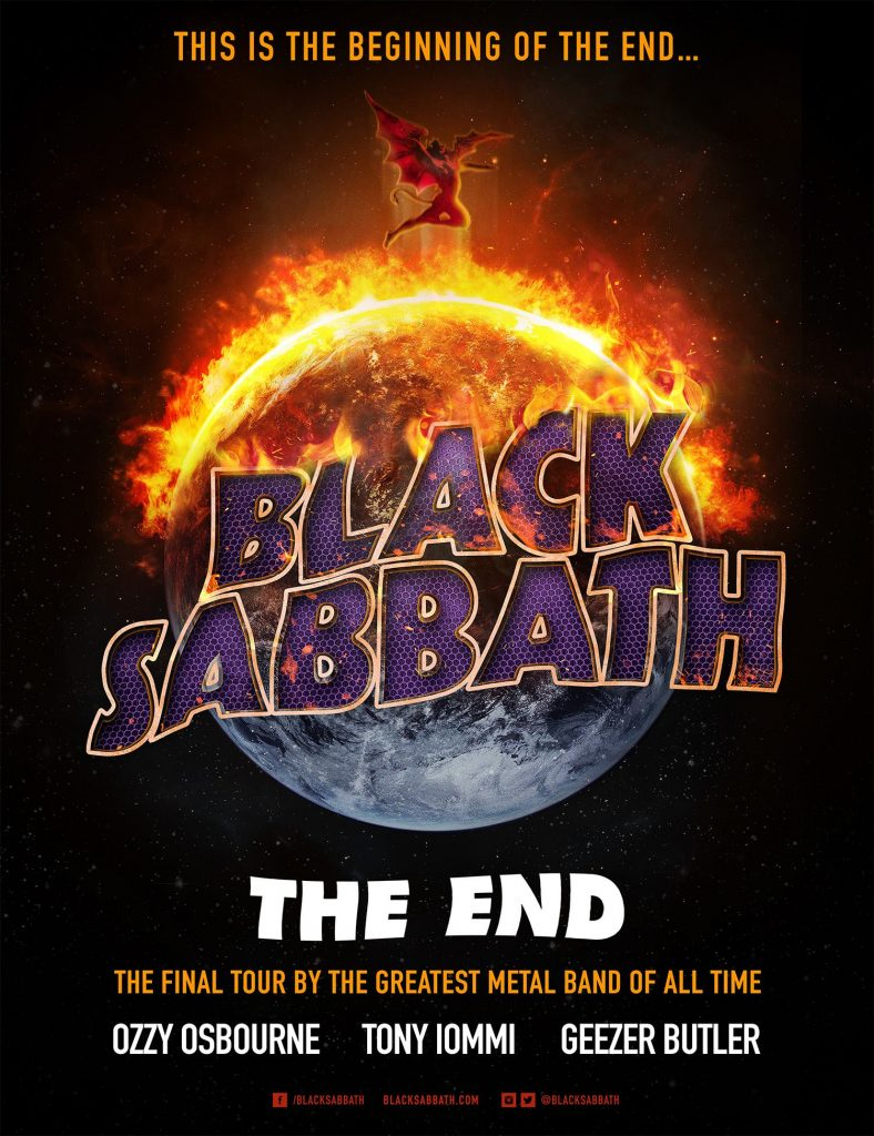 Black Sabbath The End Tour