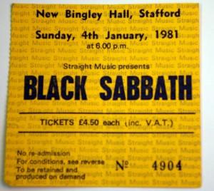 home of metal black sabbath ticket new bingley hall. Black Bedroom Furniture Sets. Home Design Ideas