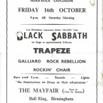 Sabbath Poster