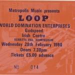 Loop, Birmingham ticket, 90