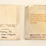 Mother membership card (1968)
