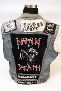 Home Of Metal Napalm Death Back Patch Jacket Year Unknown