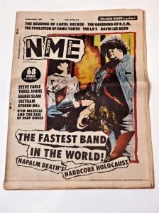 NME magazine, 1988