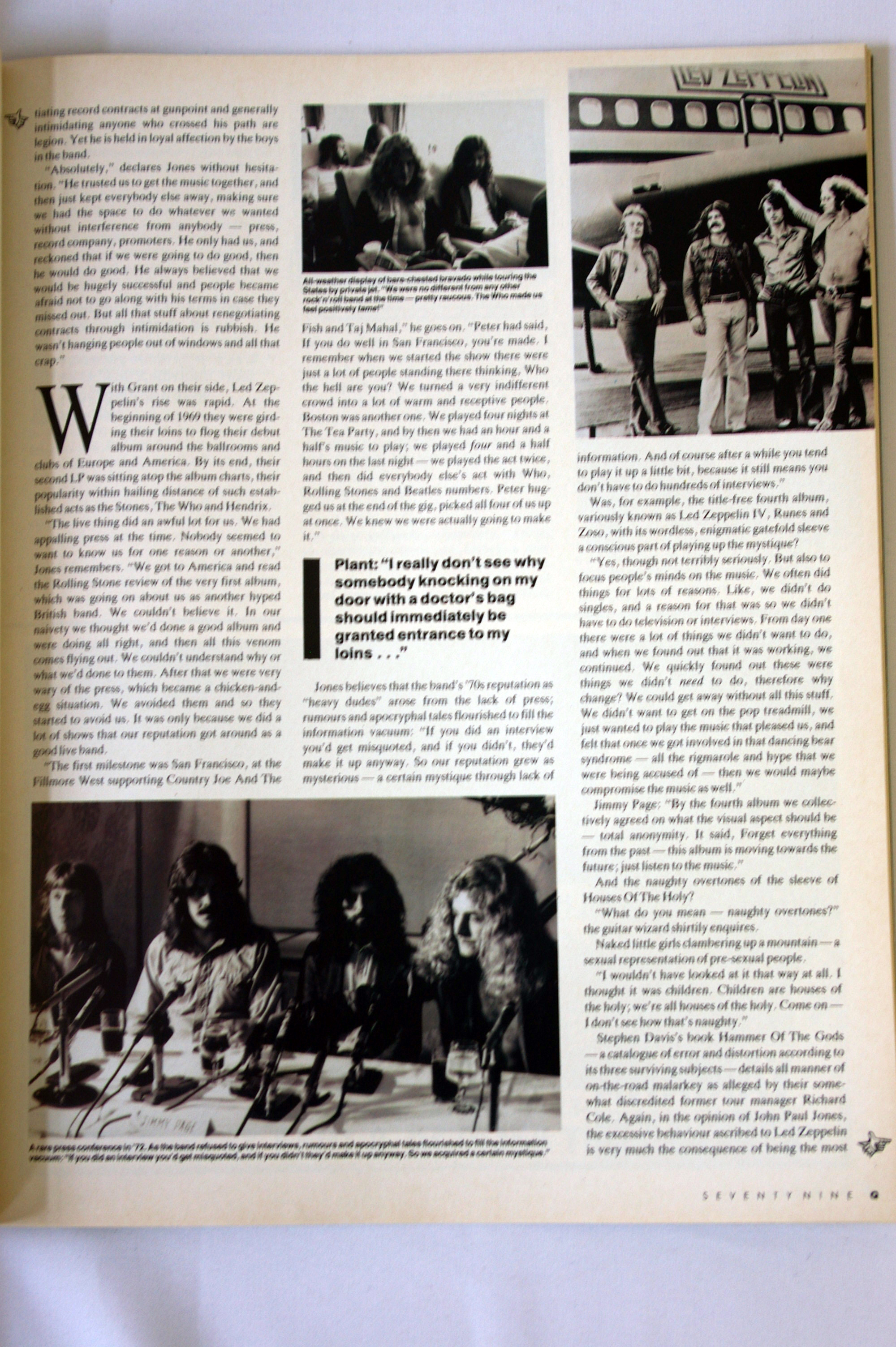home of metal q magazine feat led zeppelin article. Black Bedroom Furniture Sets. Home Design Ideas