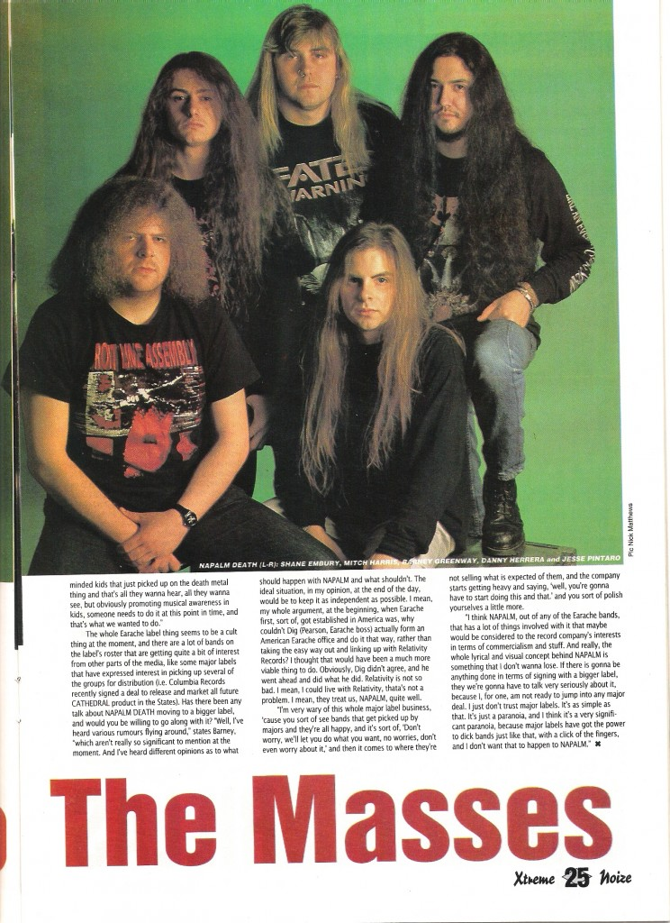 Home of Metal | NAPALM DEATH INTERVIEW