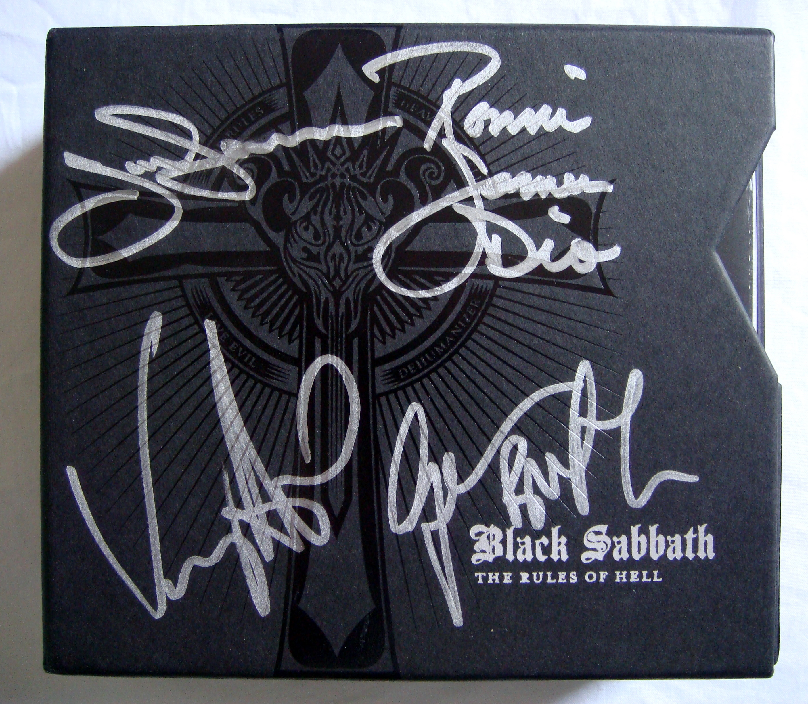 Home Of Metal Black Sabbath The Rules Of Hell Box Set