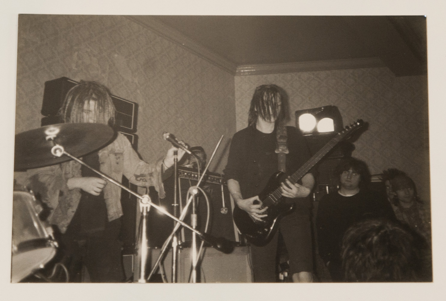 Home of Metal | Napalm Death photographs (1986).